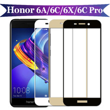 Protective Glass On Honor 6A The For Huawei 6C Pro 6X 6 C X A C6 X6 A6 Tempered Glas 6Cpro Screen Protector Honer Hono Film 2.5D(China)