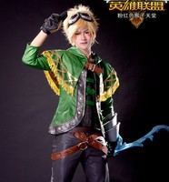 game cosplay LOL Ezreal unifrom cosplay costume