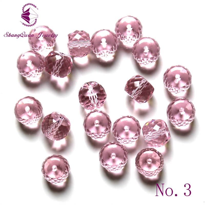Crystal Glass Column Loose Spacer Beads Fit European Charms Bracelets Jewelry Diy Findings 10x8mm AAA Grade