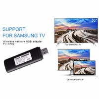 NEWEST USB Wireless Lan Adapter WiFi Dongle For Samsung Smart TV Computer