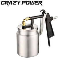 CRAZY POWER 500ML Pneumatic Spray Gun Professional Airbrush Sprayer Alloy Painting Atomizer Tools With Hopper For