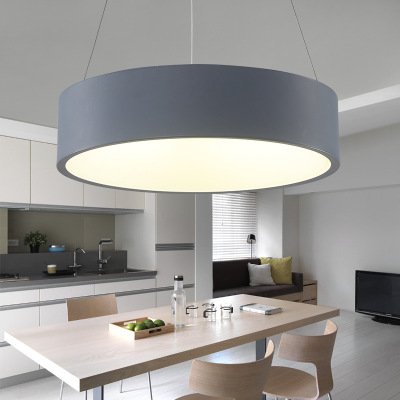 Modern led pendant lighting real lampe lamparas for for Suspension luminaire 3 lampes