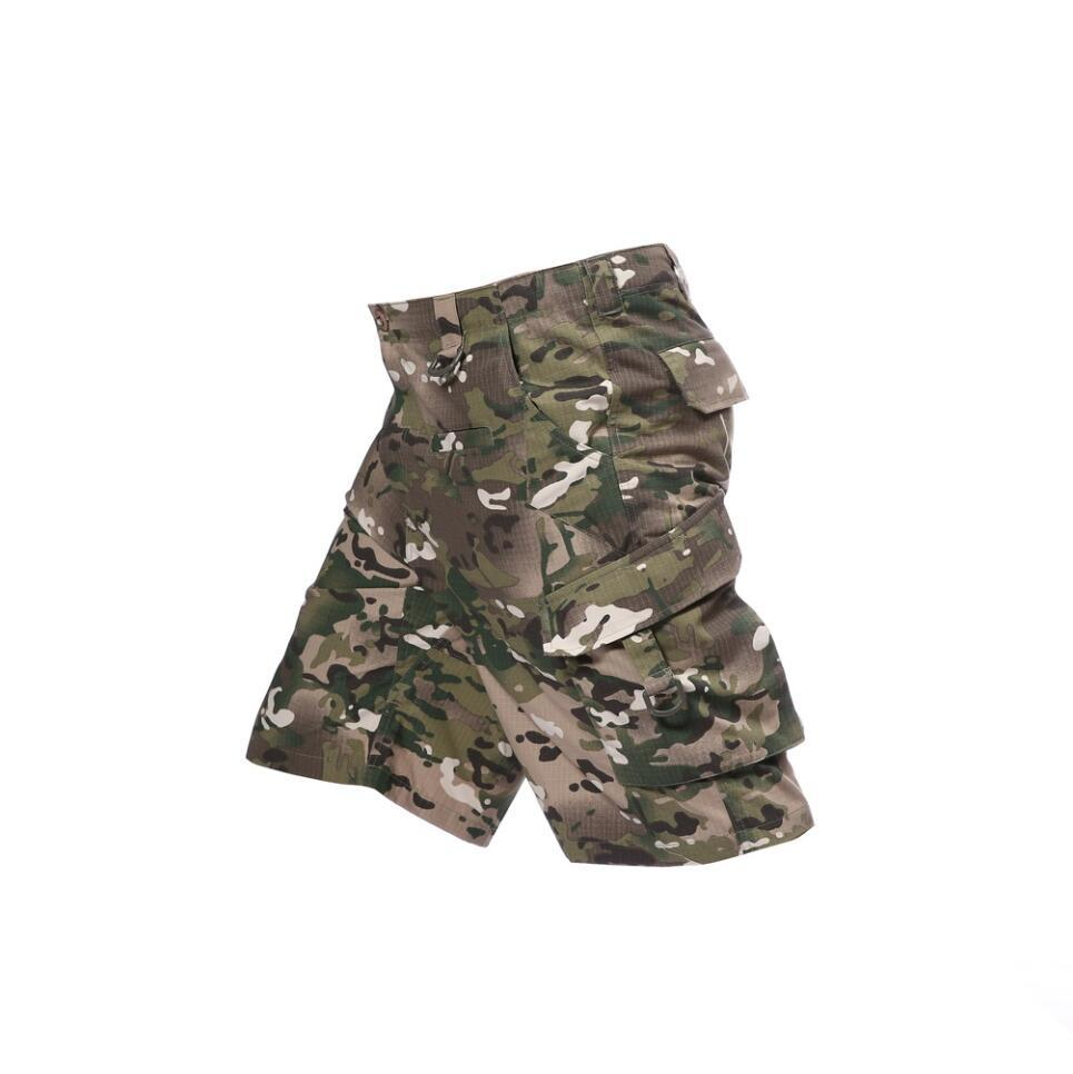 Summer Mens US Military Tactical Camouflage Cargo Shorts Army Hombre Special Forces Soldier Combat Clothes Camo Short Pants