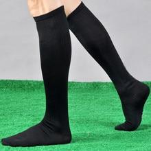 Hot Men Autumn Winter Football Soccer Long Socks Cotton Over Knee Socks Thigh High Elastic Long