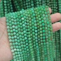 Оптовая продажа! 5 нитка! Натуральные бусины из хризопраза натуральный камень Бусины DIY свободные бусины для изготовления ювелирных изделий