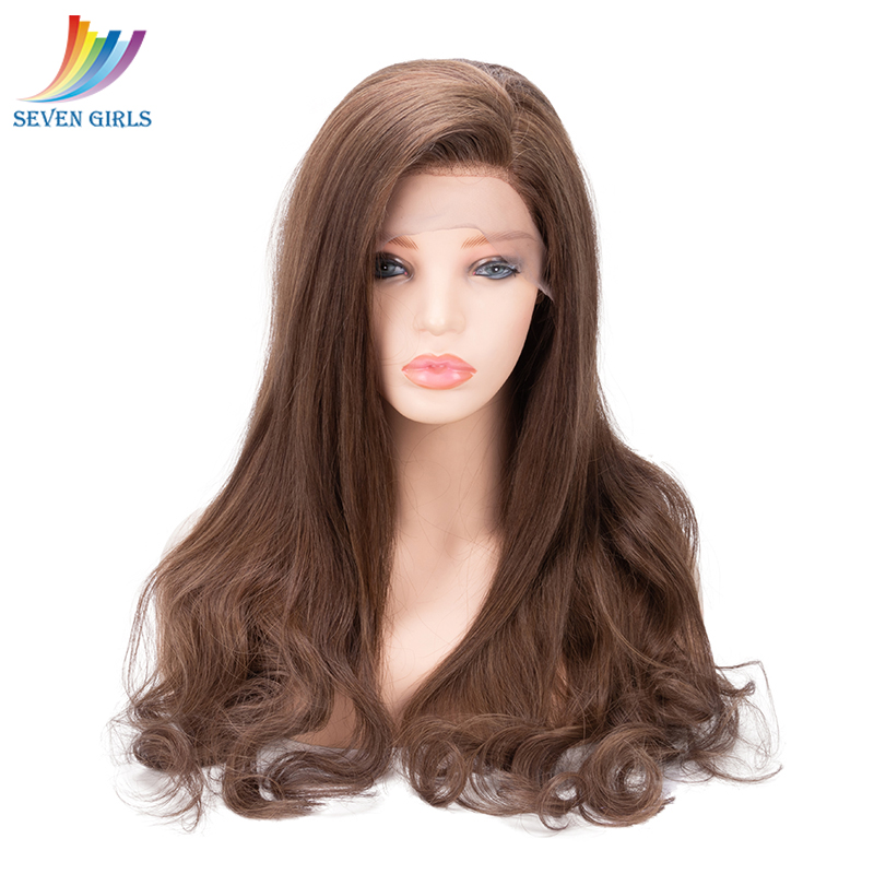 Sevengirls Glueless #613 Curly Short Full Lace Human Hair Wigs With Baby Hair Peruvian Pre Plucked Virgin Hair Free Shipping Human Hair Lace Wigs