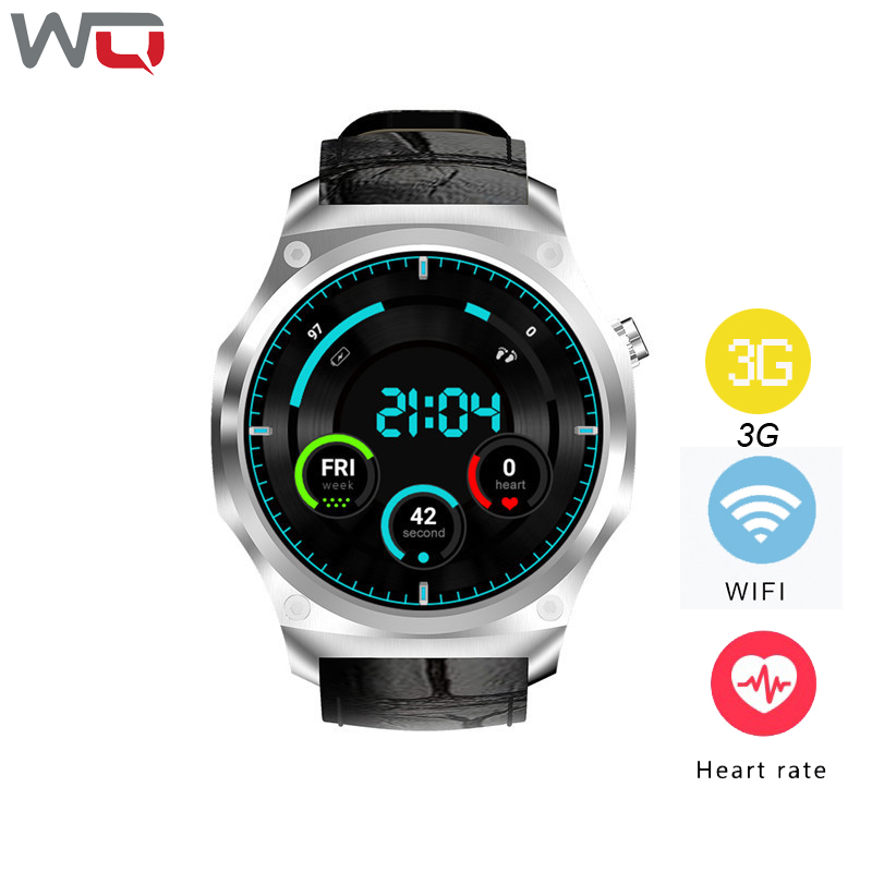 WQ F2 Smart Watch 1GB+16GB GPS Wifi 3G 1.39 inch smartwatch HeartRate Monitor FitnessTracker For Android IOS цена