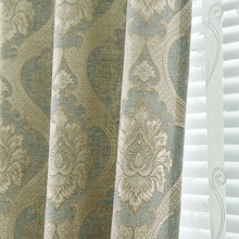 High Shading Cotton Linen Europe Luxury Embroidered Tulle For living Room Bedroom Blackout font b Curtain