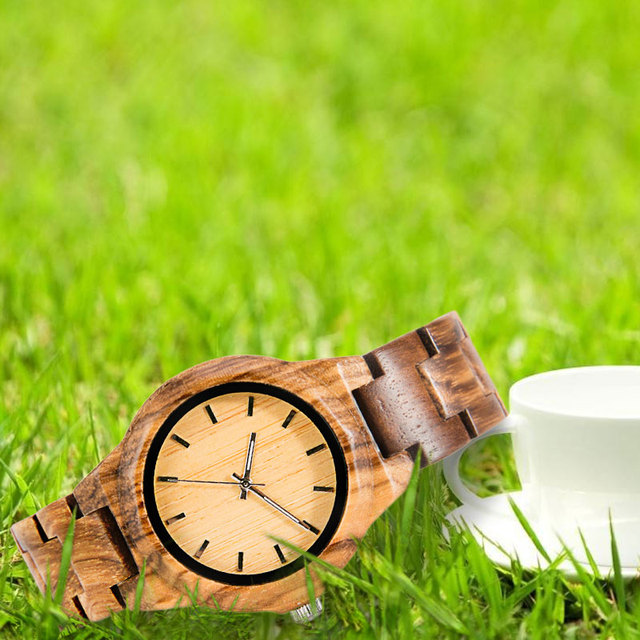 Wood Watch Women's Bracelet femme 2019 women watches Houten horloge Watch Styles art Luxury Famous Brand wood watch              5