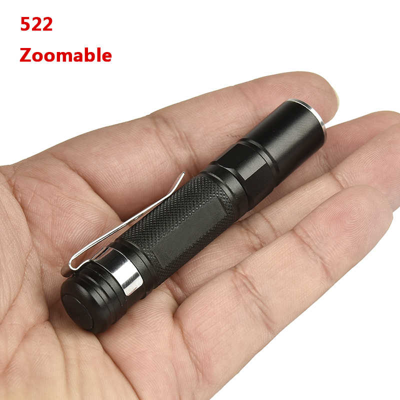 Мощный водонепроницаемый светодиодный фонарик факельные фонари переключатель Одиночный Режим ВКЛ/ВЫКЛ Масштабируемые AAA батареи портативные фонари для кемпинга