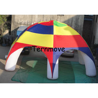 6m diameter advertising inflatable spider tent,giant air dome tent Event Dome Camping Tents for Party canopy tents
