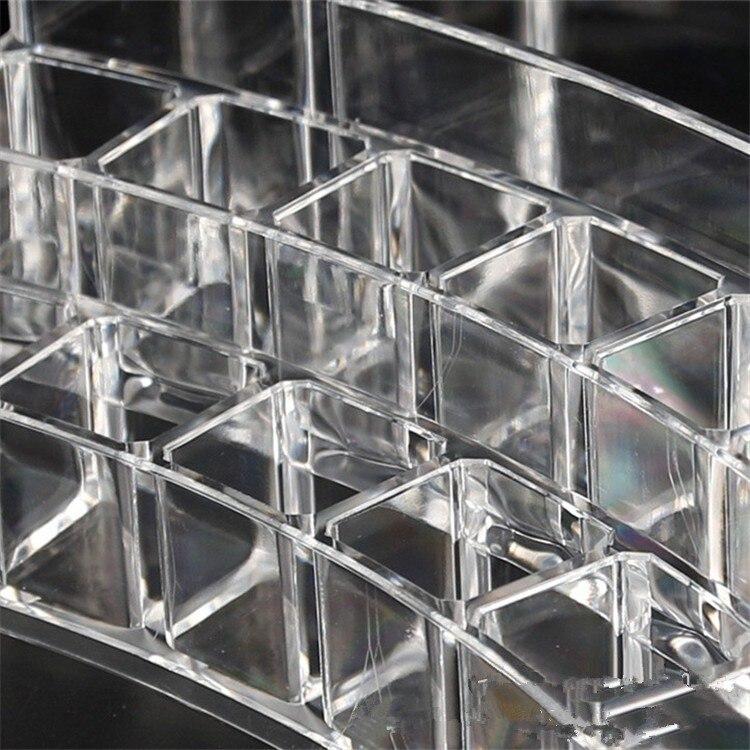 Promotion 10pcs Jewelry Storage box Curved transparent acrylic