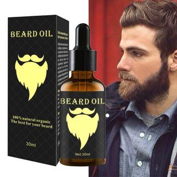 Natural Ginger oil Men Beard Growth Enhancer Facial Nutrition Moustache Grow Beard Shaping Tool Beard Care Products T9 Hair & Scalp Treatments