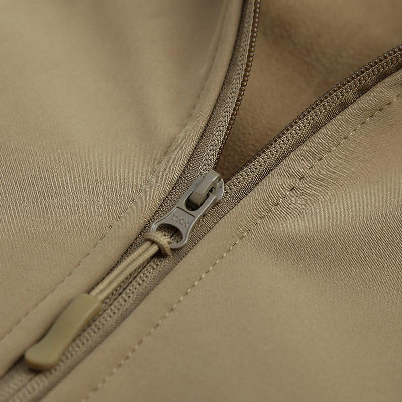 Mens tactique militaire camouflage Softshell vestes décontractées - Vêtements pour hommes - Photo 6
