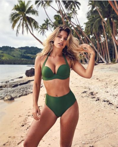 feeb5812d6 New 2018 Womens High Waist Swimsuit Retro Bikini Vintage 50s Pinup Girl Bathing  Suit