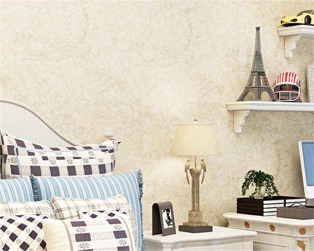 Beibehang Mediterranen Stil Mode Karte Blau Beige Tapete Kinderzimmer Vlies  Papel De Parede 3d Tapete Papier