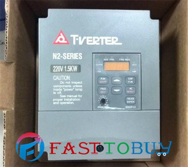 TECO AC Motor Drive Variable Frequency Drive Inverter N2 Series Single/Three-phase 200V 7.5A 1.5KW 2HP Inverter N2-202-H NEW