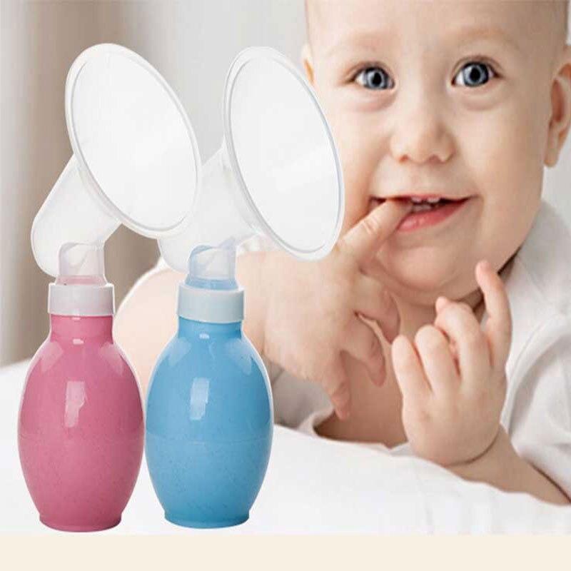 Безопасный Молокоотсос ручной Кормление матери насосные для кормящих Прямая