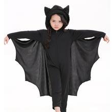 Takerlama Детский костюм на Хэллоуин Пурим карнавал черный вампира