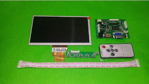 цена на Free Shipping 7 inch AT070TN90 LCD Display Screen Monitor with Kit HDMI VGA Input Driver Board