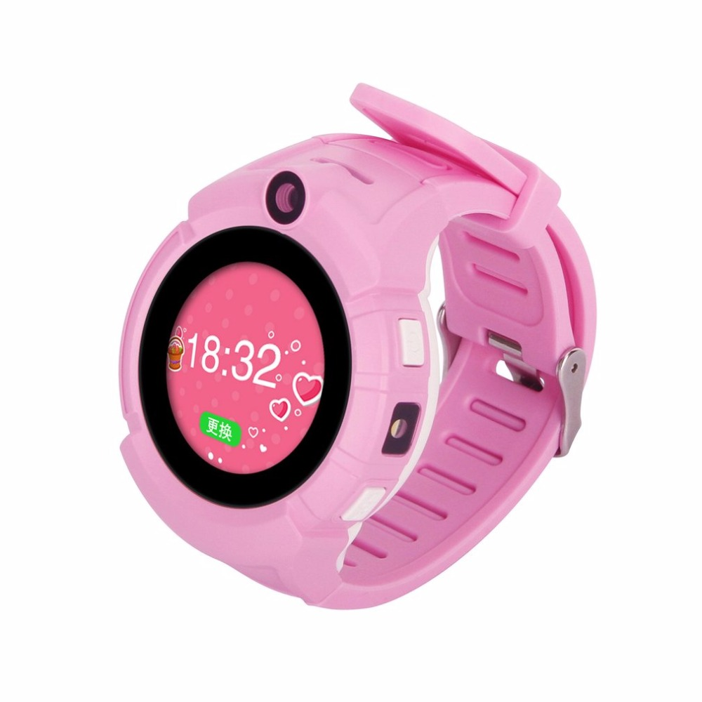 Expressive T10 Child Smartwatch Safe-keeper Sos Call Anti-lost Monitor Real Time Tracker Base Station Location Gps Watch Phone Pure White And Translucent Consumer Electronics