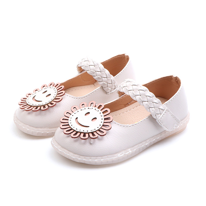 Toddler//Little Kid//Big Kid Girls Flock Sewing Rope Mary Jane Flats Sneakers Princess Dress Shoes