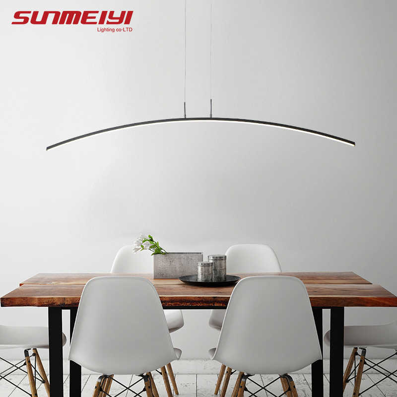 Скандинавское освещение современный светодиодный подвесной светильник для кухни столовой блеск pendente висячая Потолочная люстра Декор для дома halat avize