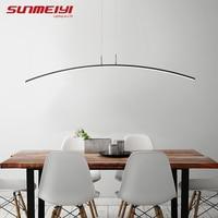 Nordic Lighting Modern LED Pendant Lights For Kitchen Dining room lustre pendente Hanging Ceiling Lamp deco maison halat avize