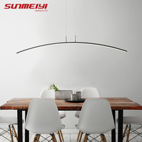 Nordic Lighting Modern LED Pendant Lights For Kitchen Dining room lustre pendente Hanging Ceiling Lamp deco maison halat avize