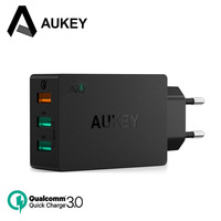 AUKEY USB Charger 43 5W Quick Charge 3 0 Fast QC3 0 USB Mobile Phone Wall