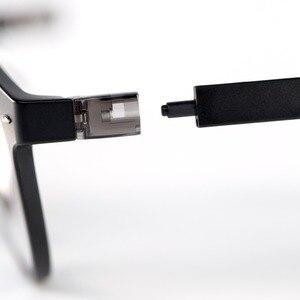 Image 5 - 新しい youpin qukan W1 抗青光線フォトクロミック保護 glas 耳幹取り外し可能な目プロテクター良い目メガネ
