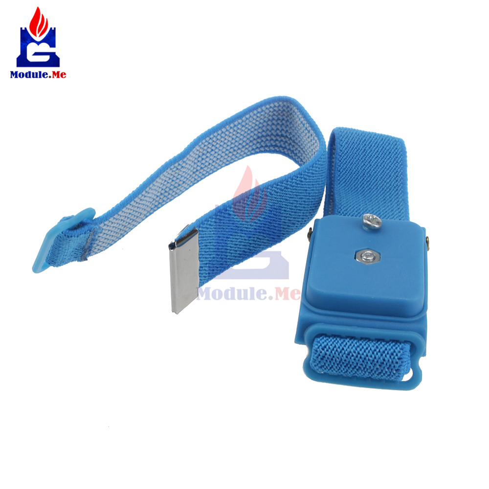 Wearable Devices 1pc/ 2pcs/ 4pcs Esd Wrist Strap Alligator Clip Anti Static Discharge Band Grounding Prevent Static Shock Wholesale Promotion