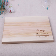 Bottofit Custom Wooden Anniversary Gift Wedding Cutting