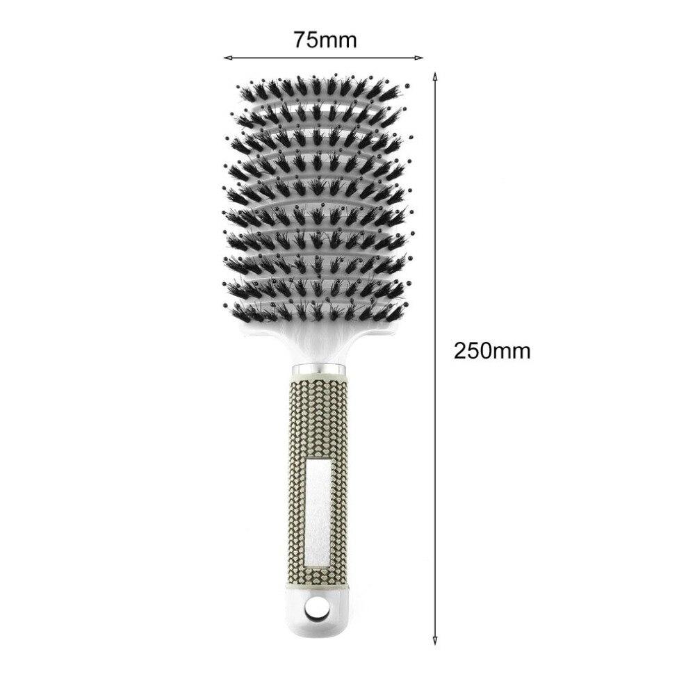 20 stücke in 1 paket, schwarz farbe, Haar Kopfhaut Massage Kamm - 6