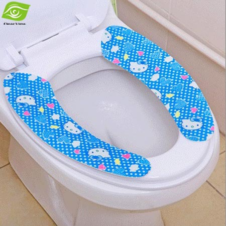 Popular toilet install buy cheap toilet install lots from - Decorative toilet seat covers ...