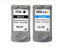 2014 New Printer Cartridge PG37 CL38 For Canon IP1800 IP2500 MP 210 MP220 MP470 MX300 MX310