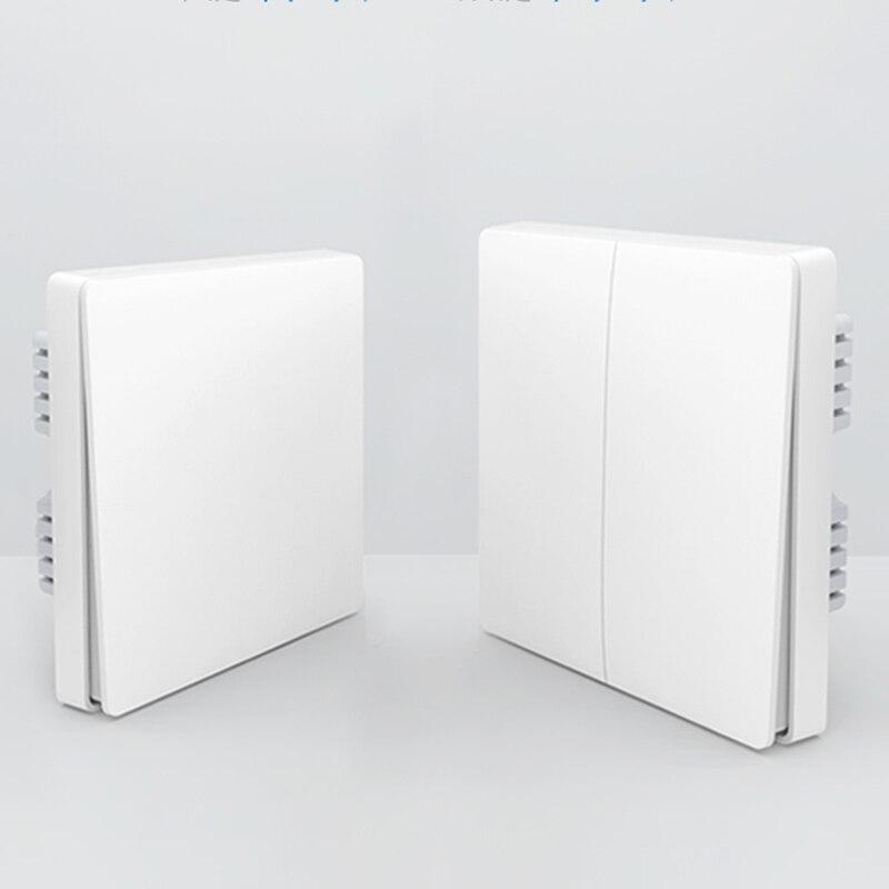 Original Xiaomi Smart home Aqara Smart Light Control ZiGBee Wireless Key switch and Wall Switch Via