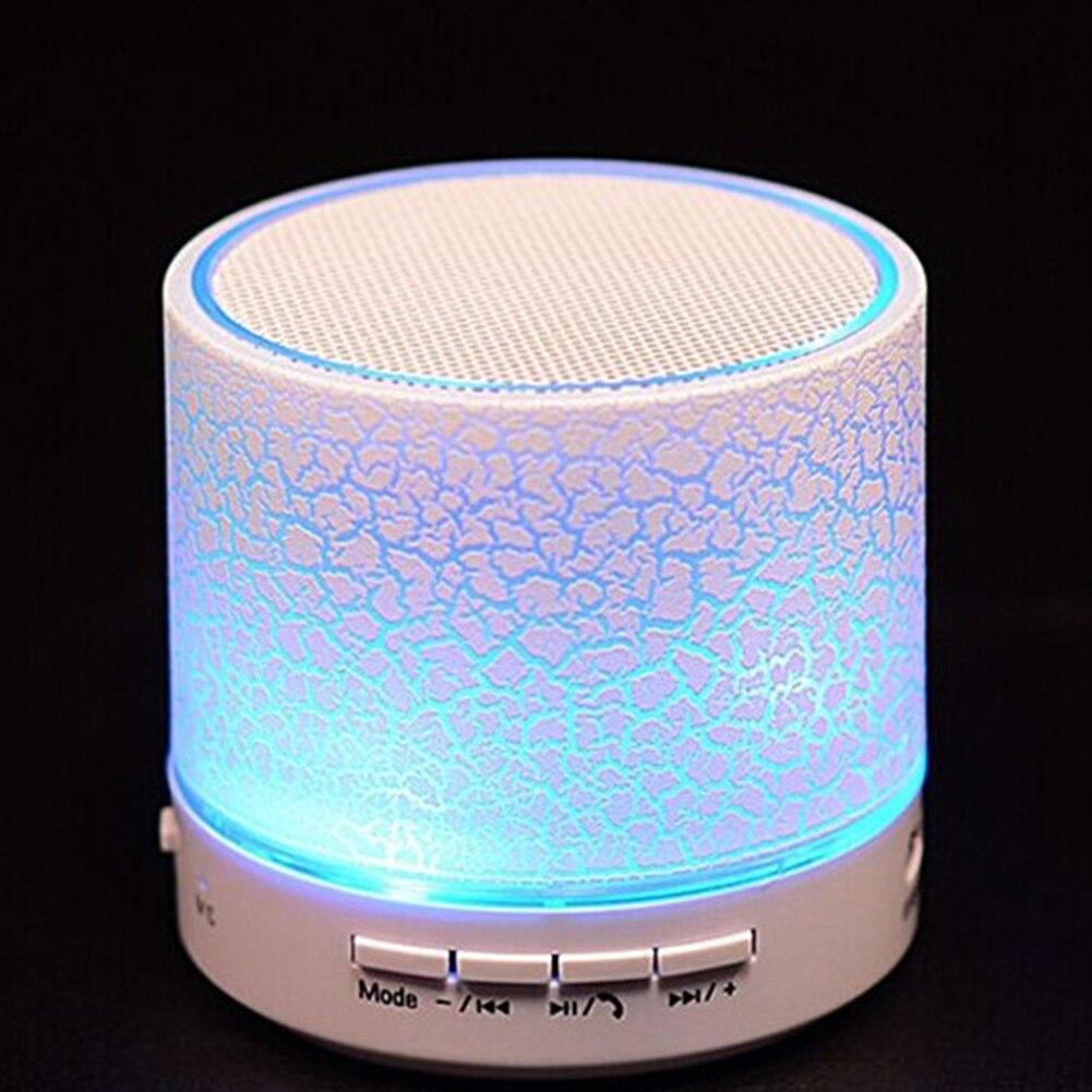 A9 Smart LED Light Crack Mini Wireless Bluetooth Speaker Portable Bluetooth Stereo Speaker