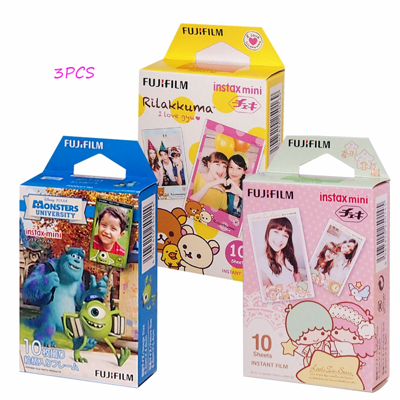 Buy 3 boxes different pattern fujifilm for Instax mini 8 housse