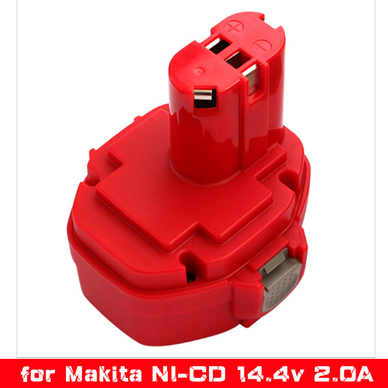 free p p 14 4v 2000mah ni cd power tools rechargeable battery pack for makita cordless drill. Black Bedroom Furniture Sets. Home Design Ideas