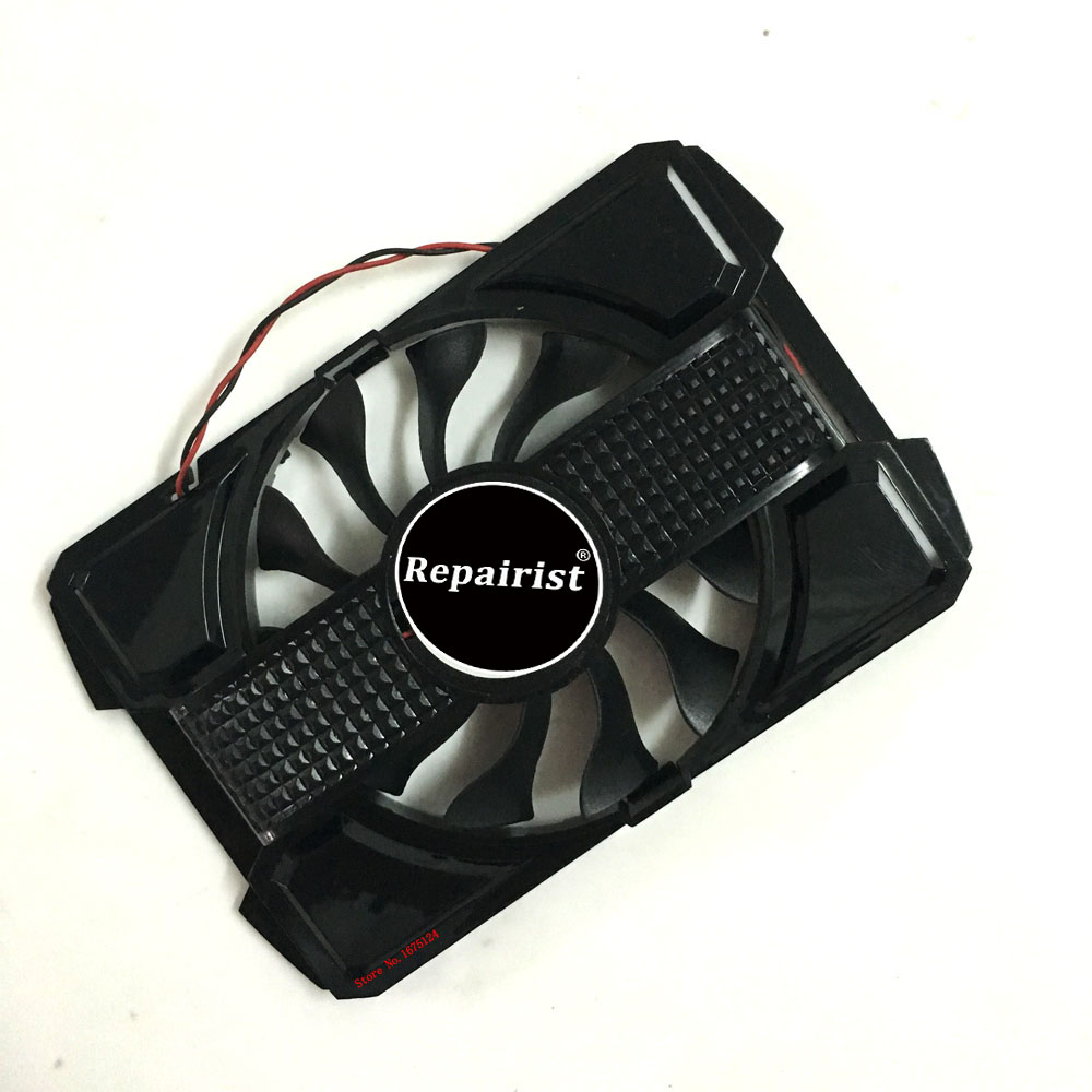 gpu cooler VGA GRAPHICS CARD Fan For ASUS <font><b>rx</b></font> <font><b>550</b></font> rx550 GT630-2GD3 Video Cards Cooling image