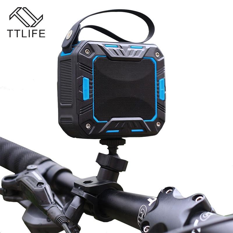 TTLIFE Wireless Bluetooth Speaker 2000mAh Waterproof Mini Portable Outdoor Hand-free Speaker for Xiaomi Bike <font><b>Mounting</b></font> Bicycle