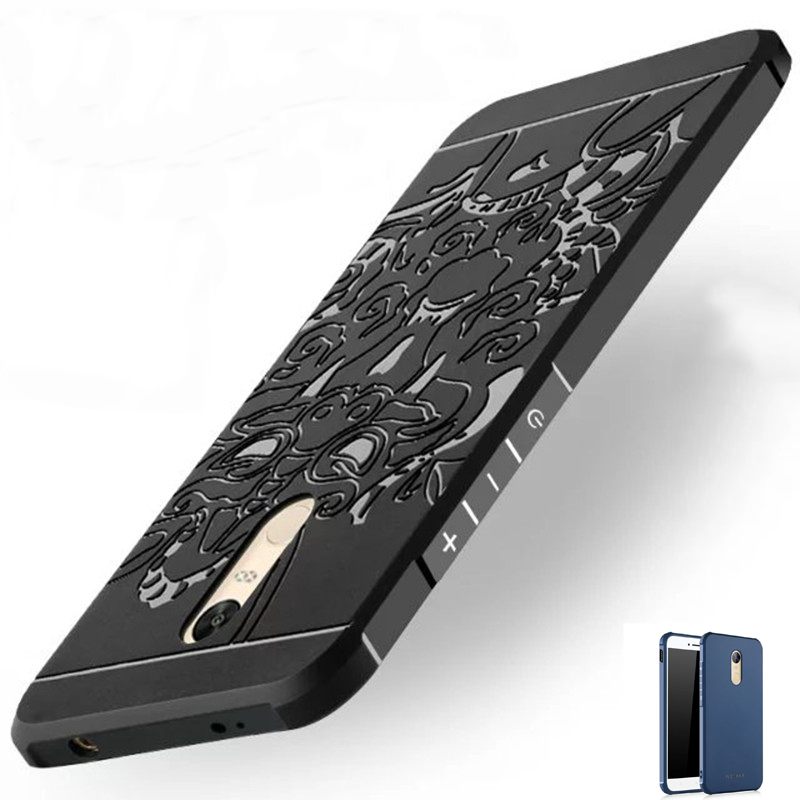 5 5 Inch Luxury Soft Silicon TPU Fundas For Xiaomi Note 4 X Case Cover Full