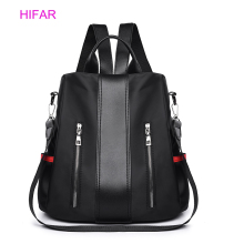 Solid Women Backpack Anti Theft School Bags For Teenage Girls Teen Backpack Book Backbag waterproof Travel Daypacks High Quality