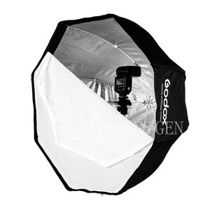 Image 2 - Godox Photo Studio 95 centimetri 37.5in Portatile Octagon Flash Speedlight Speedlite Umbrella Softbox Soft Box Brolly Riflettore