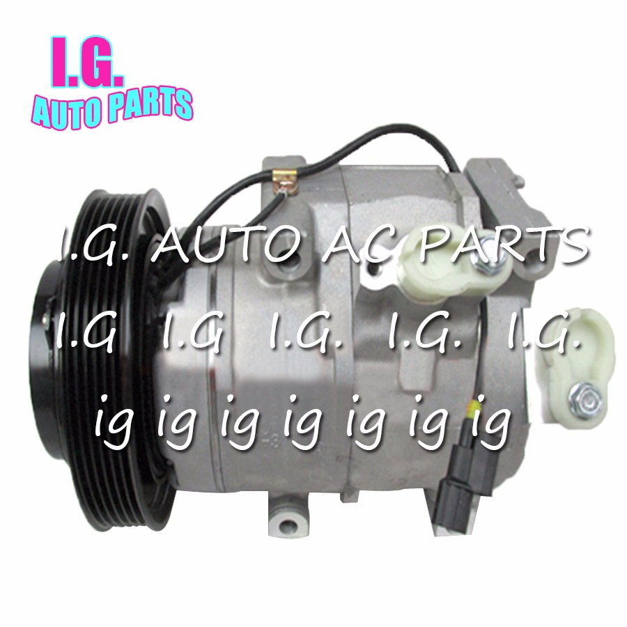 1 10SR17C AC COMPRESSOR For Car Honda Odyssey Pilot Acura Ridgeline 3.5L 3.7L 2007-2014  158334 38810-RGL-A02 38810-RN0-A01