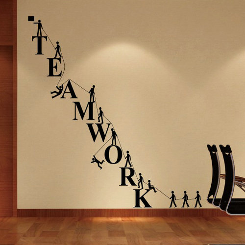 Special company culture wall stickers wall stickers Enterprise ...