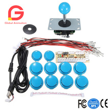 Arcade Buttons Game USB Encoder PC Joystick Controller DIY Kit Zero Delay Project For Mame Jamma & Other Fighting Games