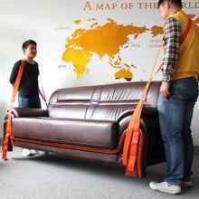 2x Unterarm Hebe Umzug Strap Möbel Transport Gürtel Einfacher Tragen Seil Günstige Preis Einzelhandel Unterarm Gabelstapler Hebe Umzug