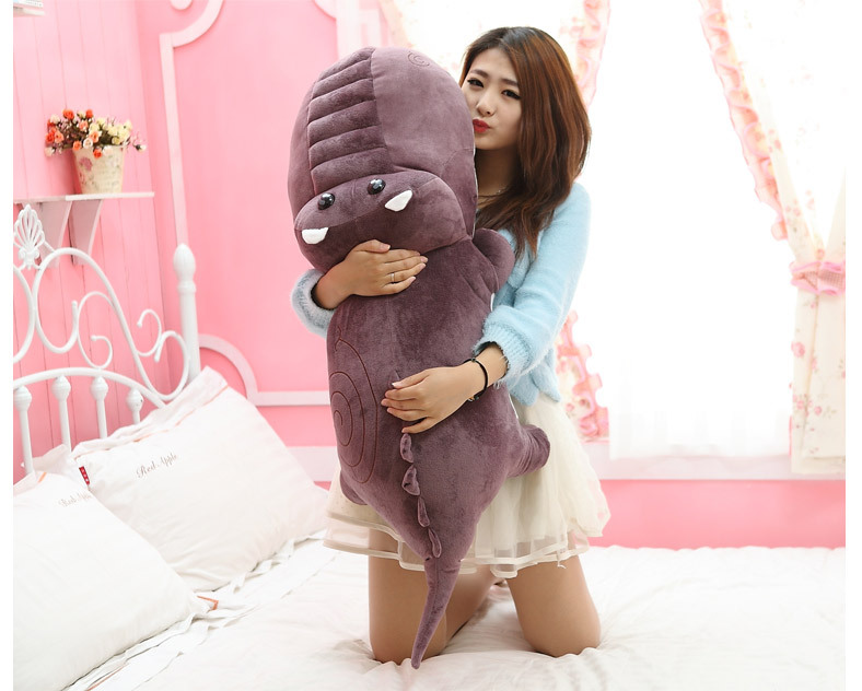 new lovely plush purple cartoon crocodile toy stuffed crocodile doll gift about 120cm 0443 the huge lovely hippo toy plush doll cartoon hippo doll gift toy about 160cm pink